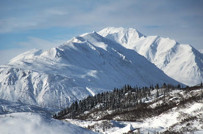 Featured Castner Glacier