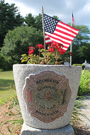 Rochester Ma. Firefighters Memorial Garden 07/26/2017