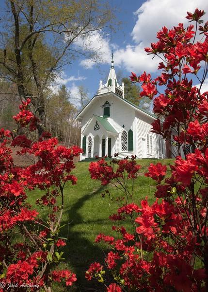 Church in Nacoochee Valley, White County, Ga.
