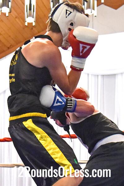 Bout 8 Niko Froce, New Castle, PA -vs- Cameron Ekas, Steubenville, 135 lbs.