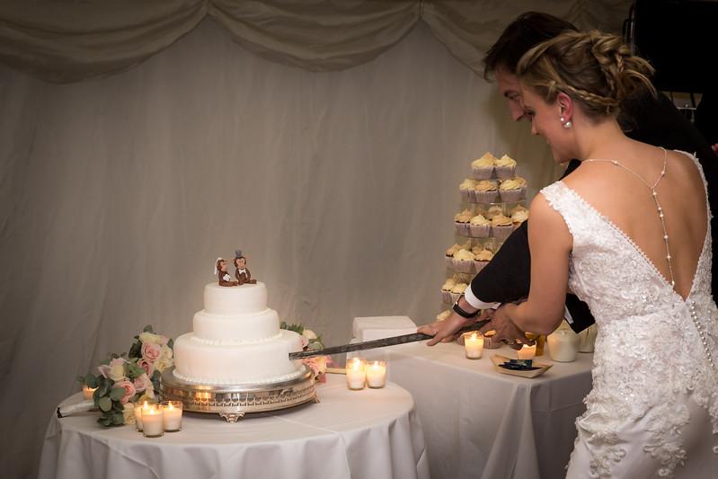 Tam & Giles Wedding - wedding breakfast