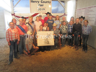 08-15-19 NEWS Henry horse art auction