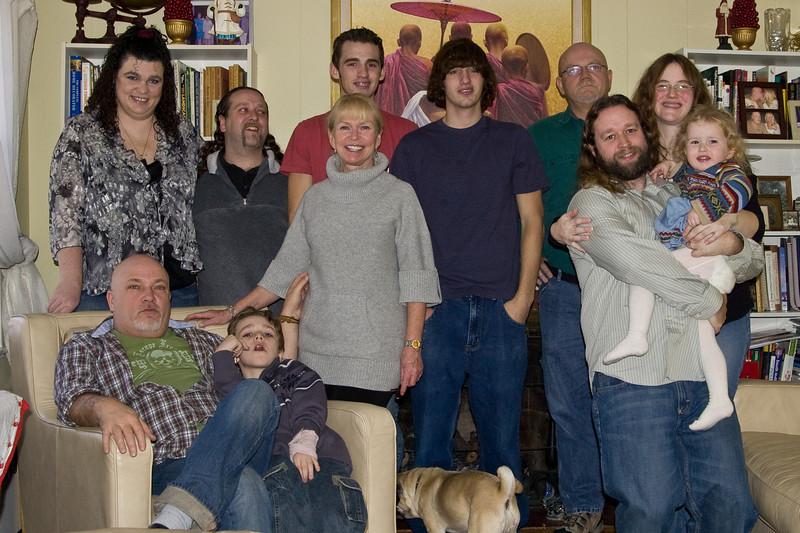 Rachel, Matt, Jeff, Gillian, Judi, Corey, Jamie, Doug, Eric, Deb, and Beverly
