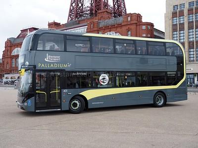 Blackpool Transport ADL Enviro 400 City
