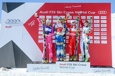 Feb 7, 2015 - Arosa ski cross World Cup final #2