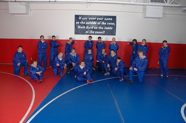 Wrestling Team Pictures