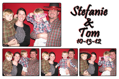 Stefanie and Tom's Wedding Photo Booth