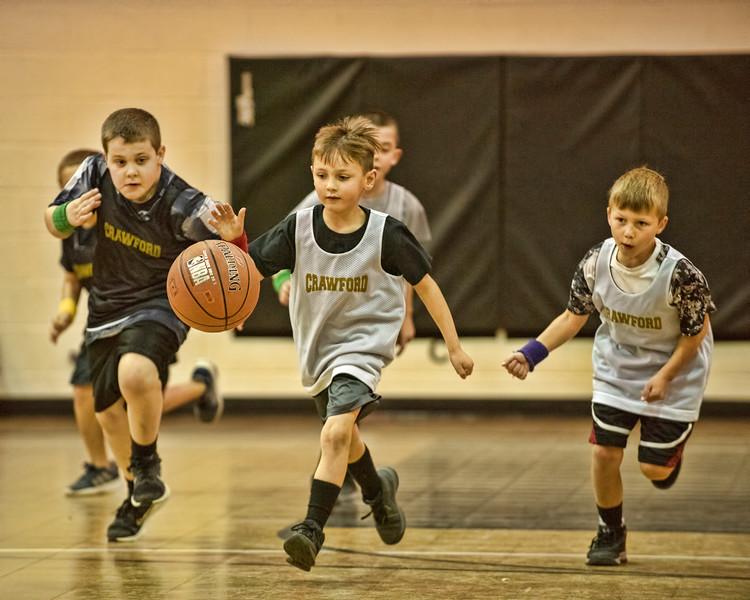 Travis' Basketball Game 1-12-2019