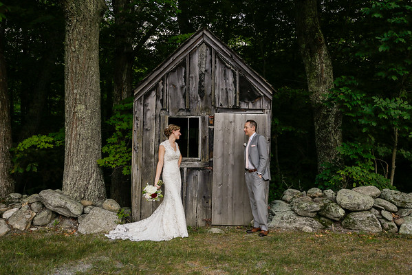 Kate & Chris' Rustic Chic Farm Wedding