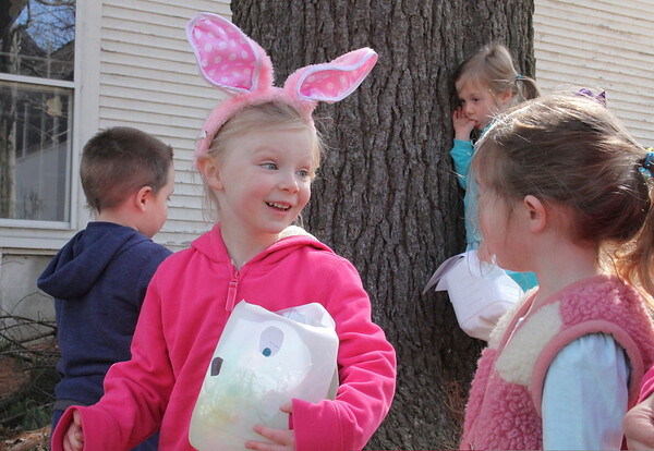 Woodstock Nursery School Egg Hunt