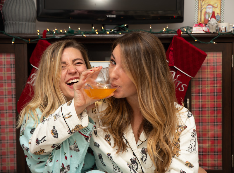 2018 Emma and Kenzie Christmas