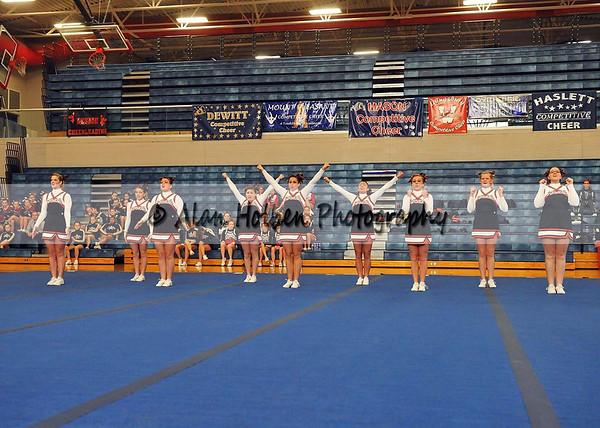 Cheer at Mason Feb 4- Leslie varsity - Round 1