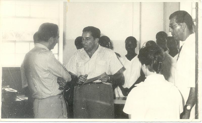 Dr. Santos David e Dr. Novo