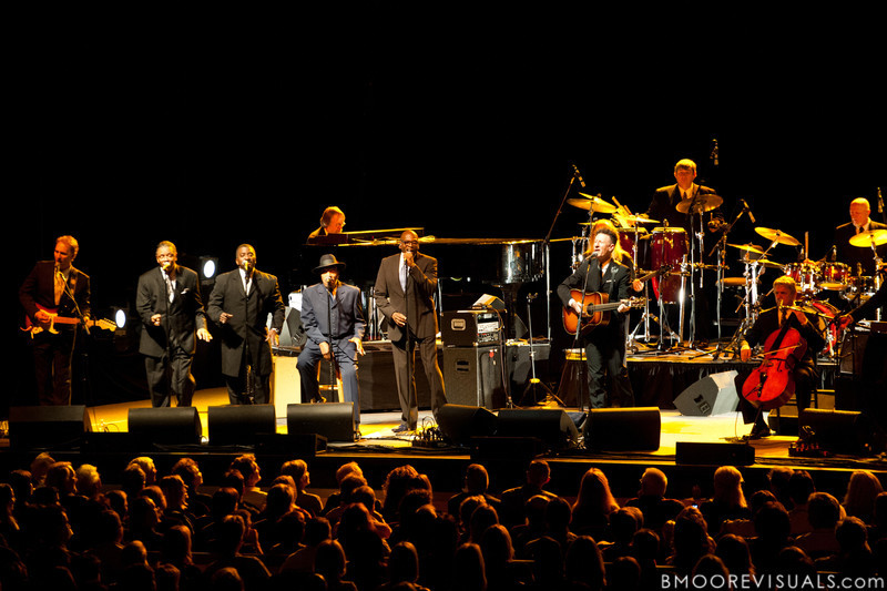 Lyle Lovett and His Large Band perform on November 21, 2010 at Mahaffey Theater in St. Petersburg, Florida