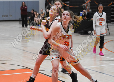 Stoughton - Sharon Girls Basketball 2-14-20