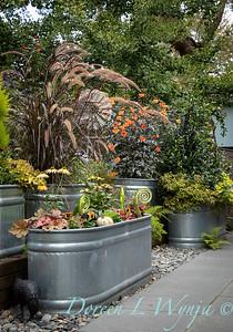 Kim's garden in Windermere