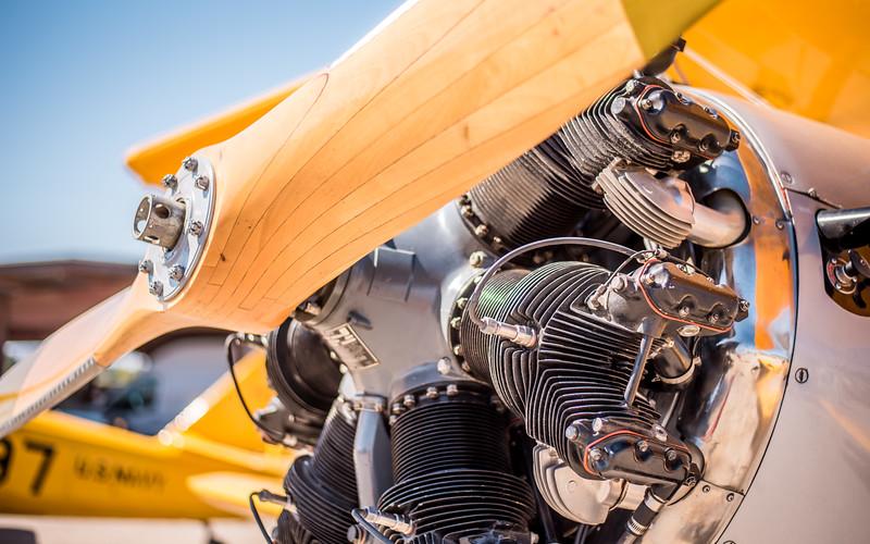 Stearman Radial Engine