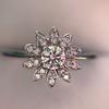 Tiffany & Co. Enchant Flower Ring 8