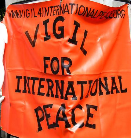 Vigil for International Peace, Central Park New York - September 25, 2011