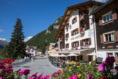 Hotel Suretta Aussenfotos Sommer