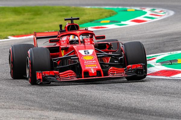 F1, 2018, Italian GP, Monza, FP2