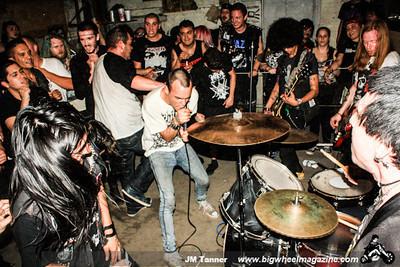 Zyanose - Frenzy - Battleshok - Stark Moon - Deepends - at Munoz Gym - Bakersfield, CA - May 1, 2014