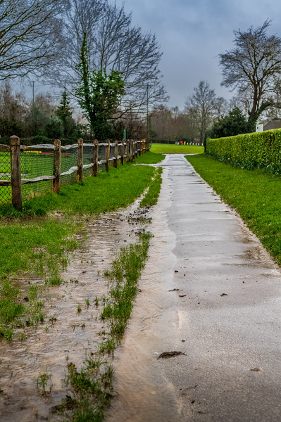 A very soggy path