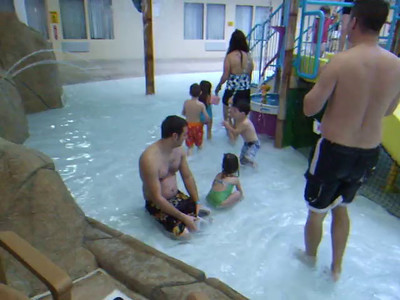 Ariana and Nate and water park 12/29/11