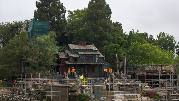 Disneyland Resort, Disneyland, Frontierland, Tom Sawyer Island, Refurbishment, Refurbish, Refurb, Rivers, River, America