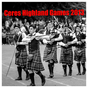 The 2013 Ceres Highland Games
