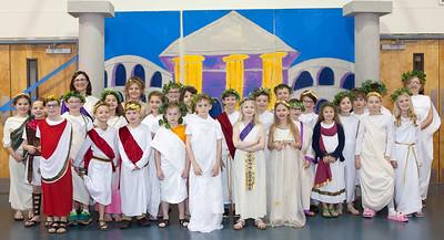 ECCS 3rd Grade Rome Day March 2020