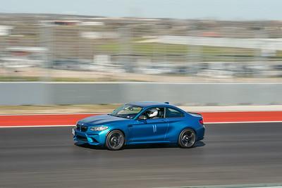 #11 Blue BMW M2