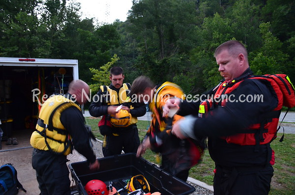 SRT Advanced; Chatham Fire Dept. Swiftwater Rescue Team; July 2017