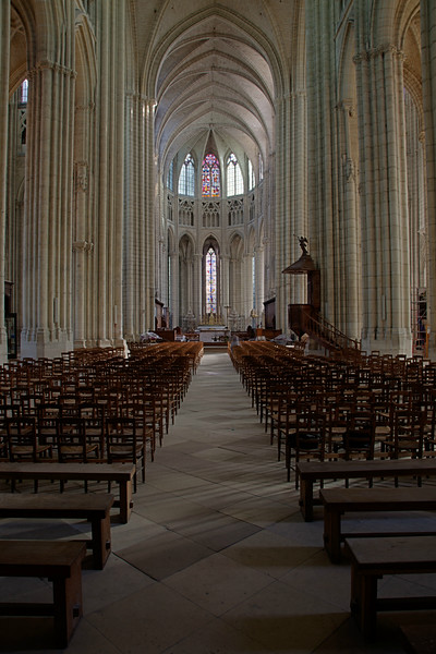 Meaux, Saint-Etienne Cathedral Nave Choir