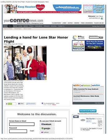 Conroe Courier Jan 2010