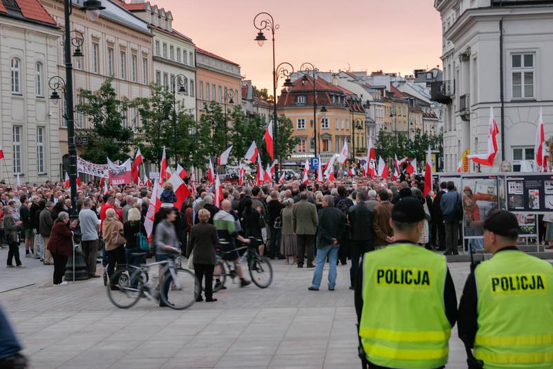 Demonstration for Smolesnk, Warsaw, 2013, Poland