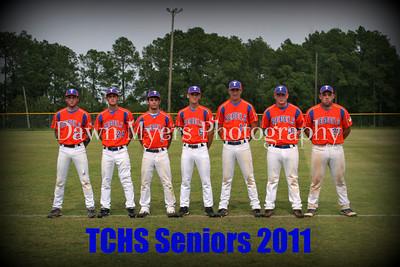 TCHS Basball Senior Night 2011