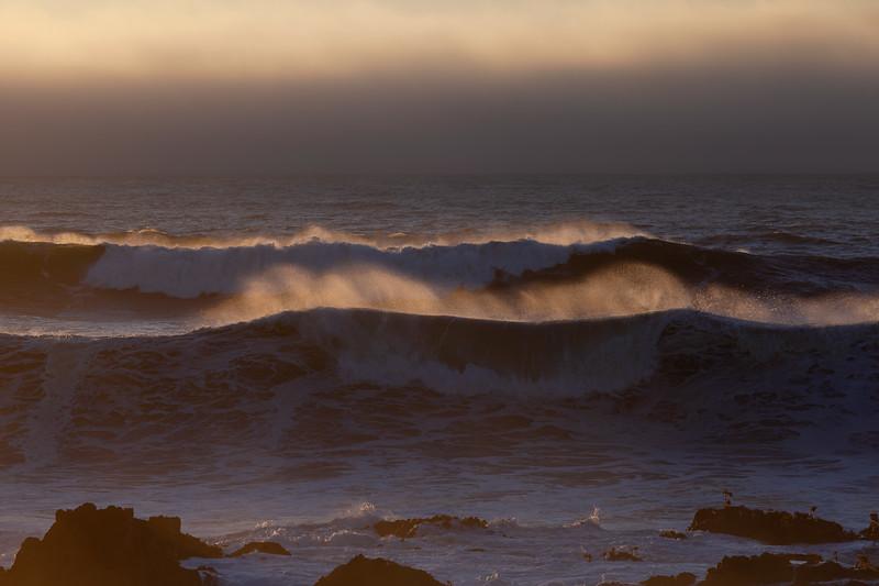 Sunset 3, Pescadero State Beach, California, 2010