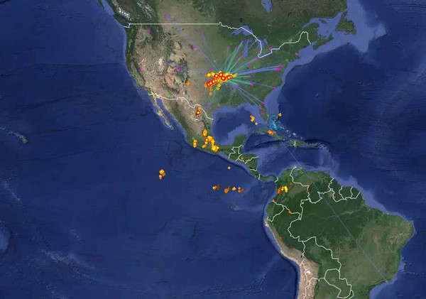 Real-Time Lightning Map  LightningMaps.org -[8].mp4