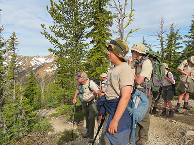 Navaho Peak Climb - Jun 19
