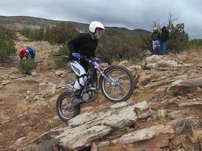 NMTA Trials Event at San Ysidro Trials Area  3-2-14