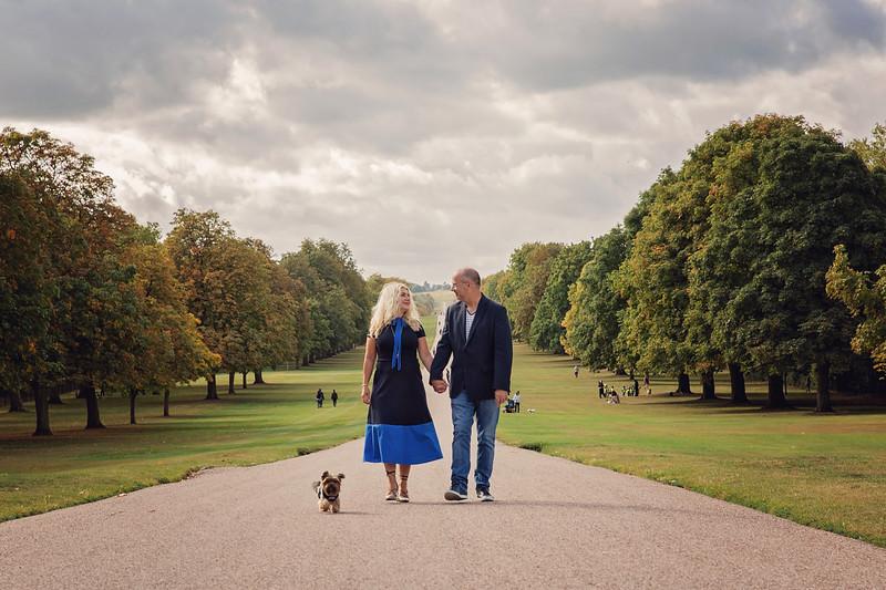 Windsor Couple & Dog Shoot