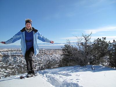 Snowshoeing on Deer Trap, December 2011