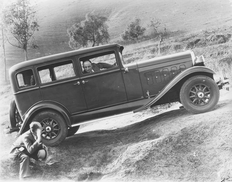 1930, Car Testing