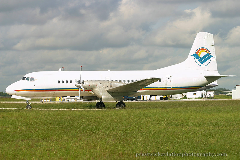 N603GL. NAMC YS-11-117. Untitled. Opa Locka. 270904.