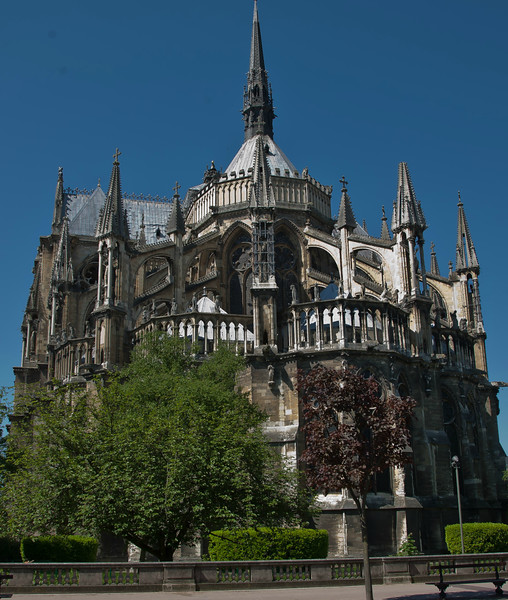 Reims, Cathedral of Notre-Dame Chevet