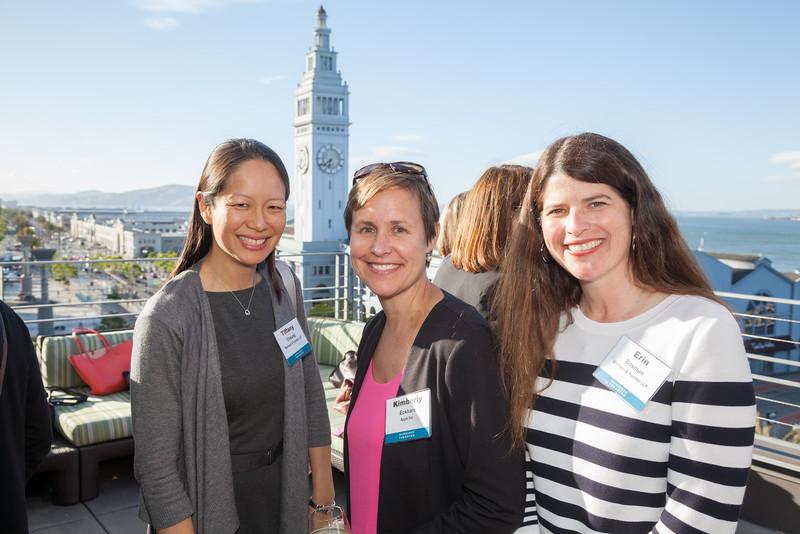 MoFo Womens Alumni Gathering at the Vitale Hotel in San Francisco.