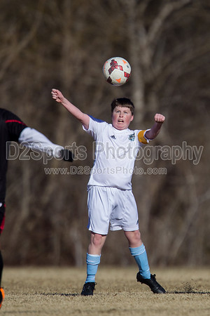 U14 NCSF Premier vs TESC Elite Red 1/26/2014