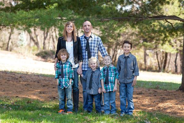 October 2012 - Sam, Wil, Trevor, and Owen