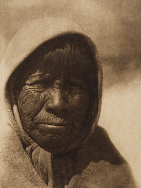 "Su-donii - ""Osier-willow blossom"" - Pyramid Lake Paviotso  (The North American Indian, v. XV. Norwood, MA, The Plimpton Press, 1926)"